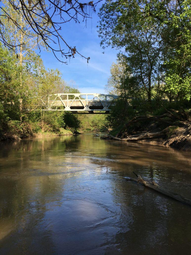 The steel bridge